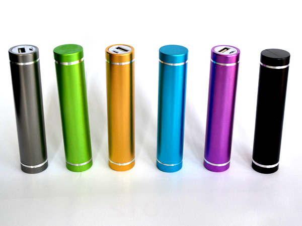 Hot selling Low price cylinder power bank 2600mah