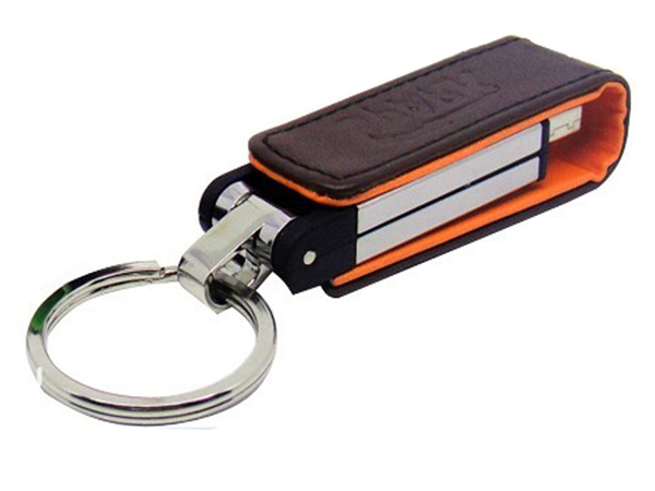 Hot sell promotional usb flash drive leather usb stick