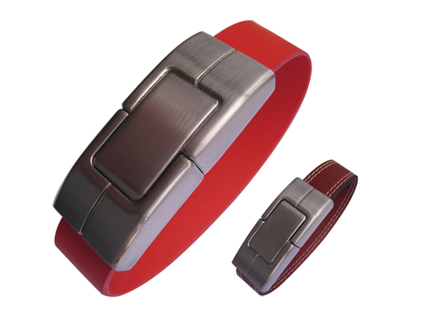 custom leather usb bracelet flash drive wristband usb flash drive