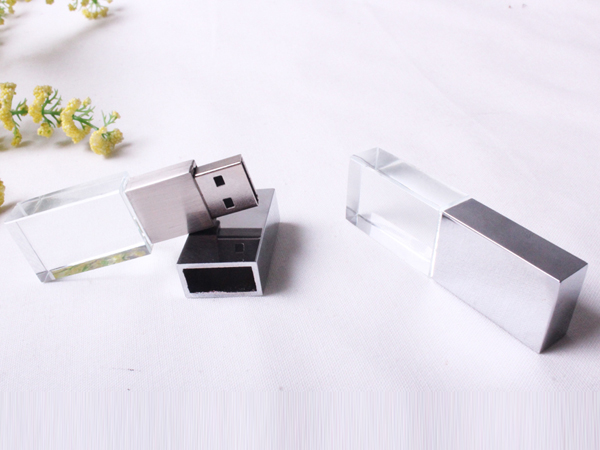 custom crystal usb flash drive crystal usb stick