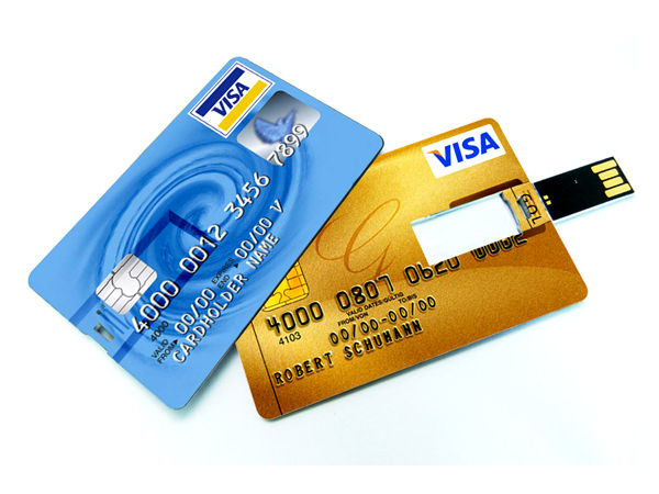 New Arrial Credit Card usb stick,business card usb flash drive