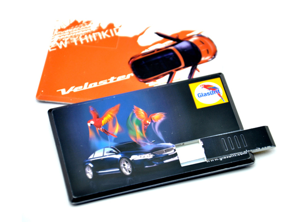 Custom 1-64GB Credit card usb flash drive with full colour printing LOGO
