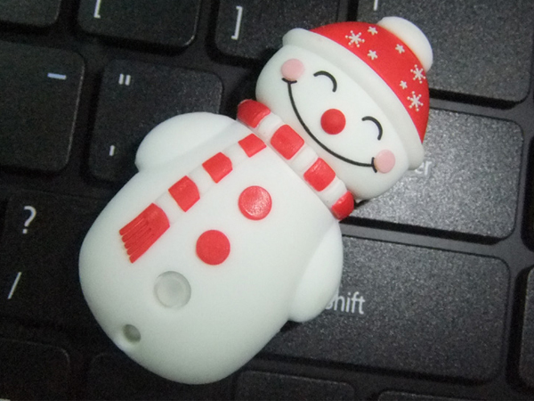 new design snowman toy  shaped usb flash disk