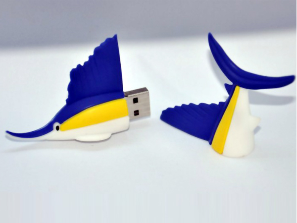 new design shark shaped usb memory with cheap promotional