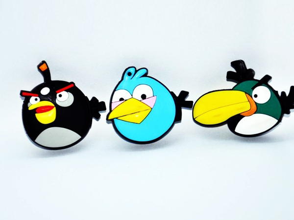 good quality angry bird shaped usb flash disk