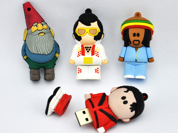 factory custom funny shape cartoon usb for free sample