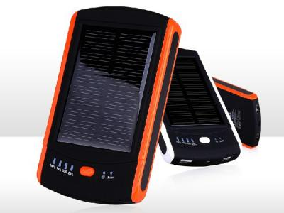 Shenzhen power bank manufacturer custom promotional solar charger,solar power bank 6000mah