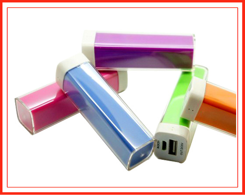 Customized logo 2600mah mobile power bank with cheap price