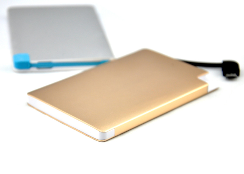 New Arrival 2500mAh credit card power bank charger,mobile charger