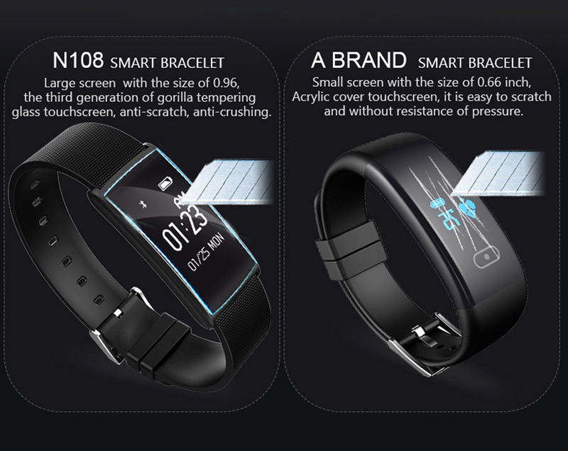 High definition LED Touch Screen Smart watch IP67 waterproof