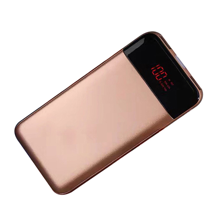 Caferria li-polymer battery 10000mah mobile charger power bank for traveling