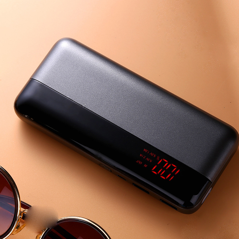 Caferria 9000 mah 10000 mah external battery wallet power bank