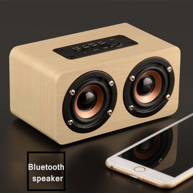 CAFERRIA unique design parlantes bluetooth hifi wood bluetooth speaker